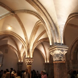 The Upper Room is a beautiful site to visit in Israel