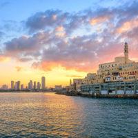 Sunset view of Jaffa