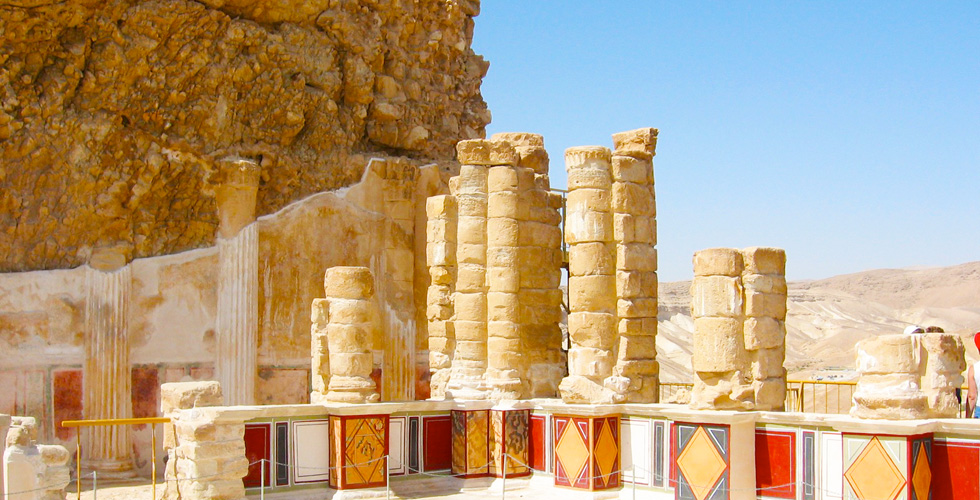 A beautiful view of The Dead Sea Sites & Attractions