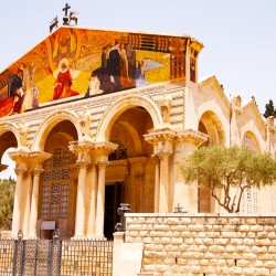 Church of All Nations is one of the most beautiful churches in Israel