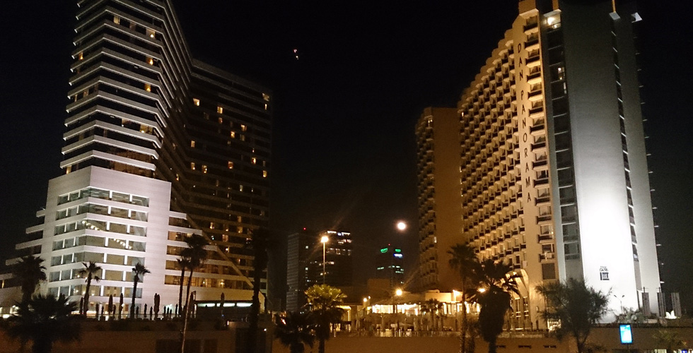 A beautiful view of Tel Aviv Hotels