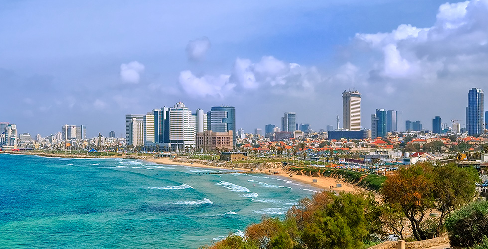 A beautiful view of Tel Aviv General Info