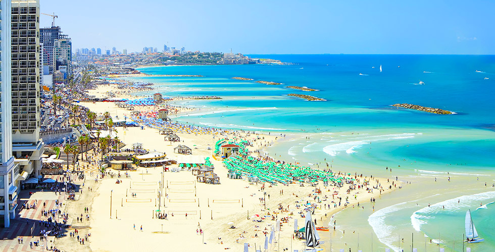 A beautiful view of Tel Aviv Sites & Attractions