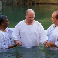 Baptism at the River Jordan