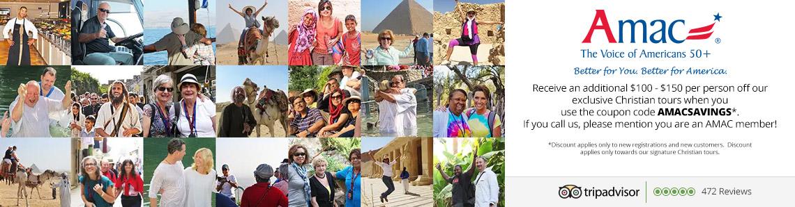 AMAC Israel Travel Discounts
