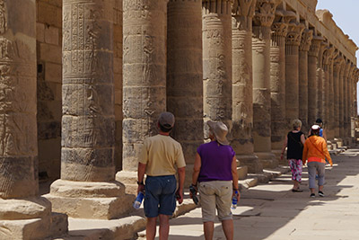 Touring Luxor and other areas in Egypt