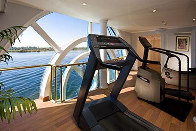 Enjoy a workout aboard the Sonesta