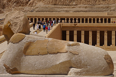 A view at one of the Egyptian ancient sites