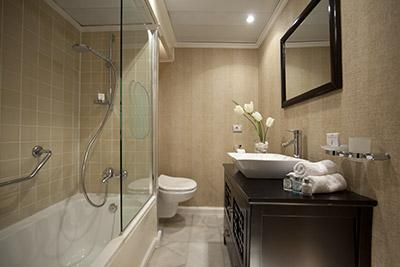 Beautiful bathroom aboard the Sonesta