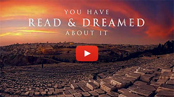 You have read and dreamed about israel