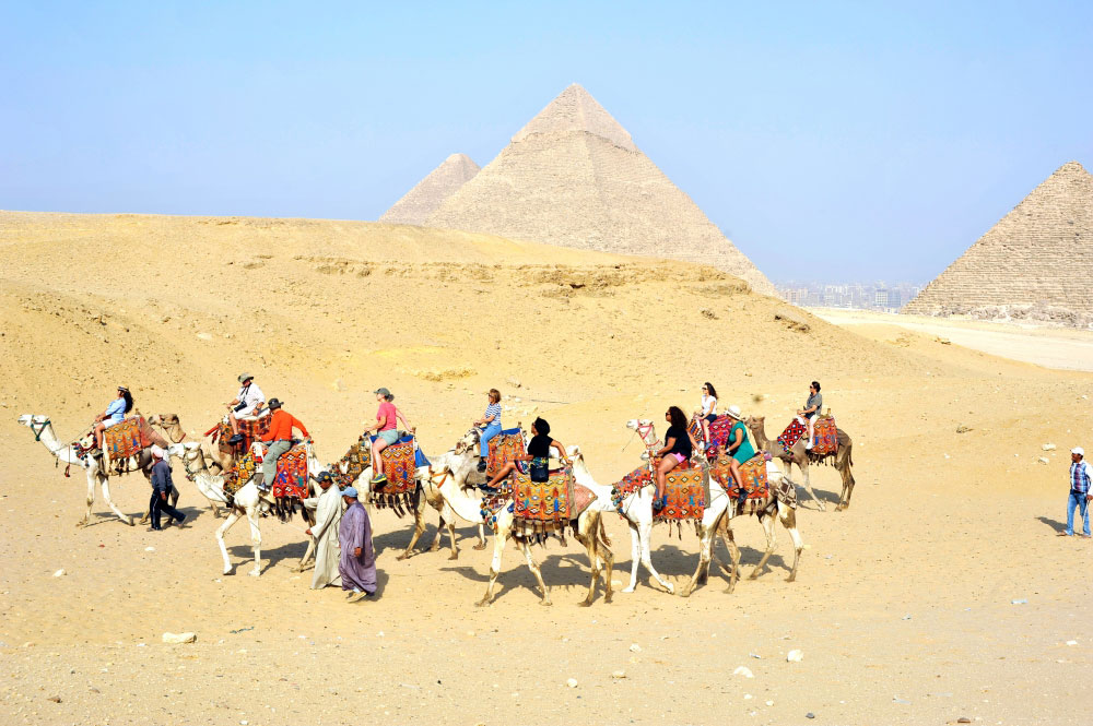 The Into The Promised Land tour takes you to Egypt, Jordan and Israel