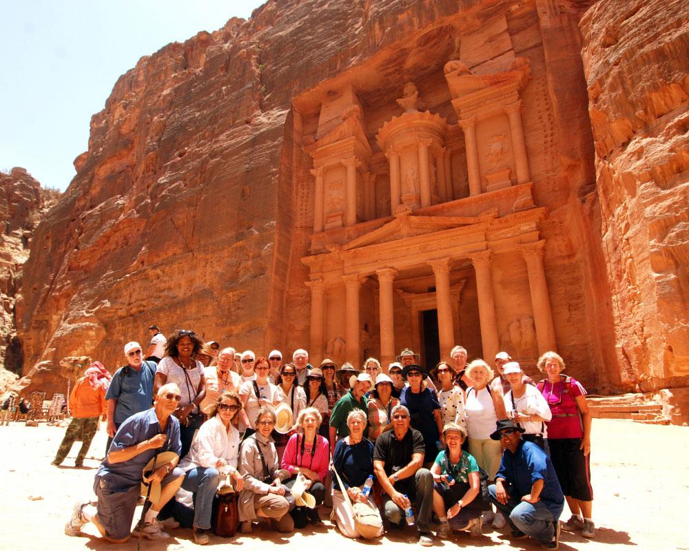 Petra es una de las siete maravillas del mundo