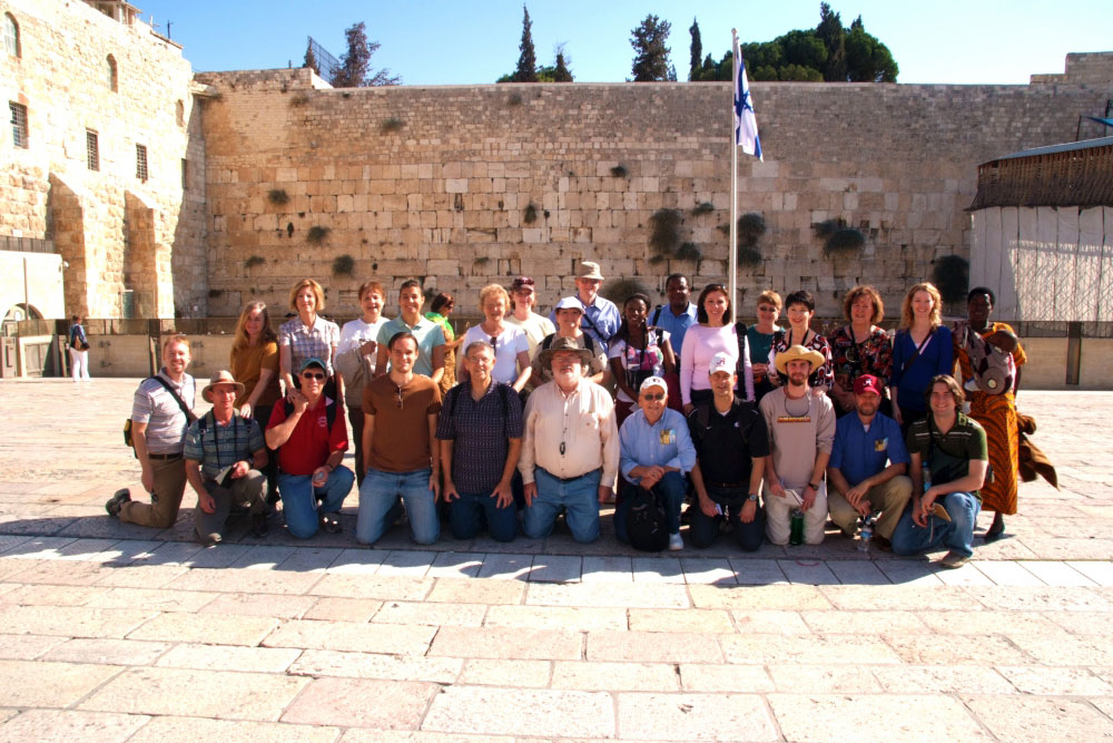 Western Wall is one of the most visited sited in the world