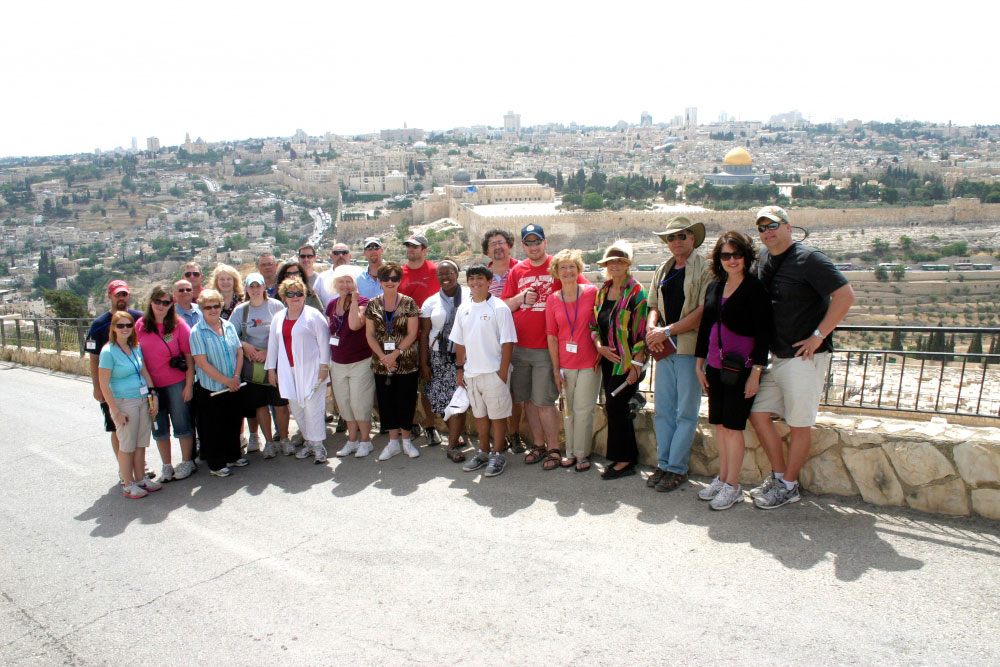My bucket list includes visiting Israel