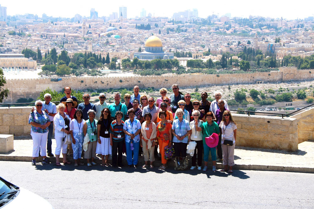 A small group to travel to Israel