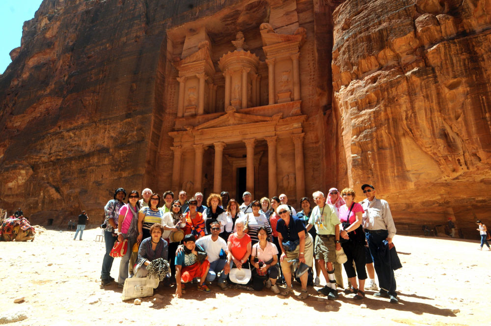 Petra is a UNESCO site