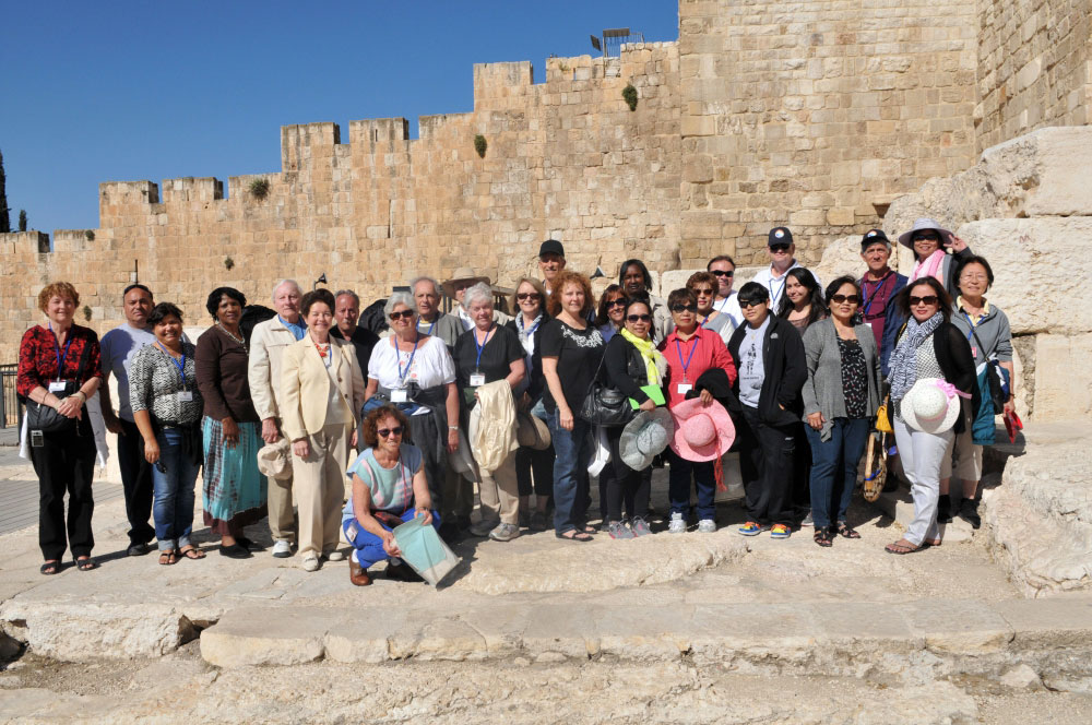 The Western Wall and Jerusalem