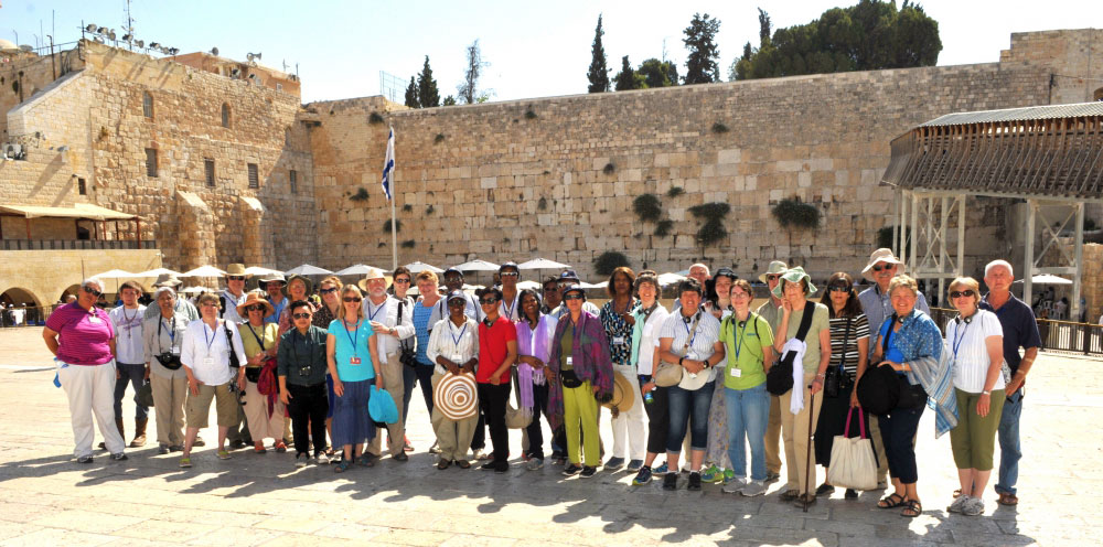 The Western Wall is a holy site