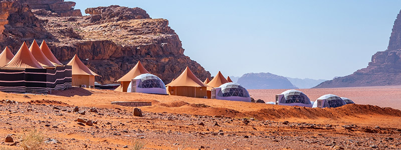 Wadi Rum added to America Israel Tours