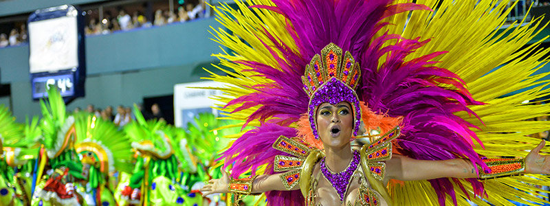 Attend the Samba Parade in the Brazilian Carnival