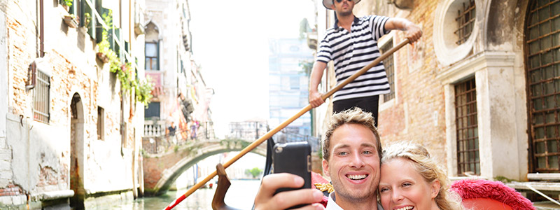 Ride a gondola in Venice