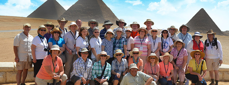 Visit the Pyramids of Giza