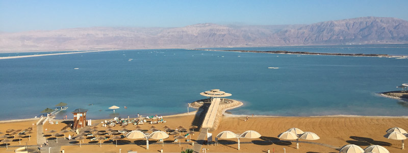 Christina staying at the Herods Dead Sea Hotel