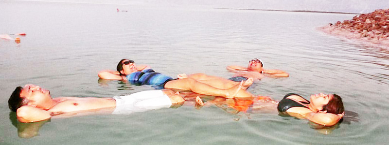 Have you ever wanted to take that iconic picture of you floating in the Dead Sea while reading a newspaper