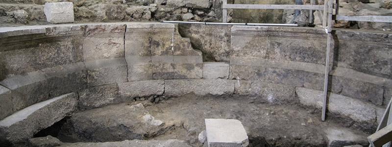 Lost Roman theater found near the Temple Mount's Western Wall