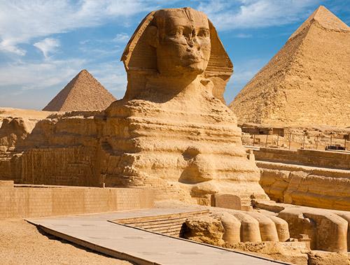 Cairo y Las Pirámides