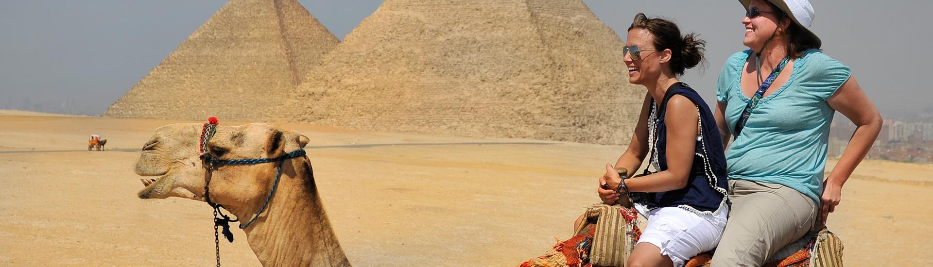 A sculpture in Egypt, near Luxor