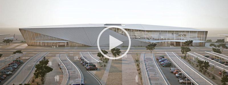 Nuevo aeropuerto de Eilat Ramon