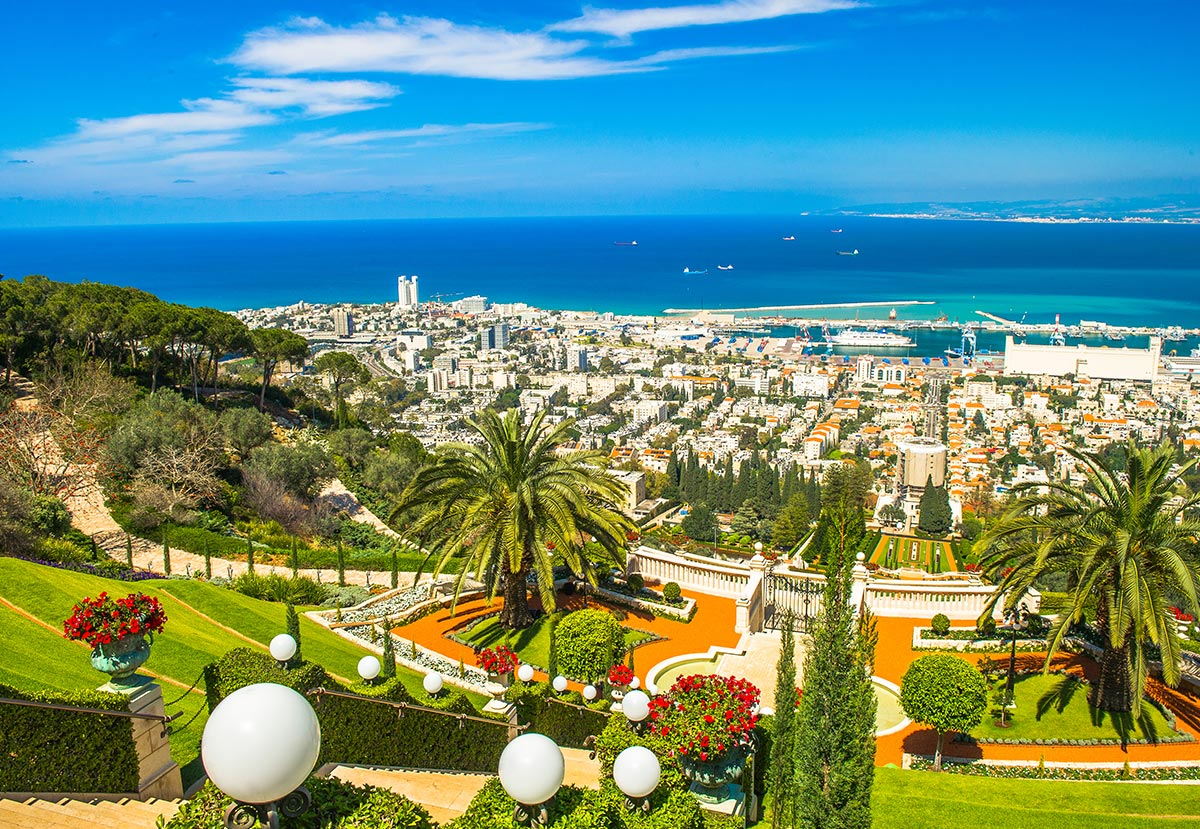 A view of Tel Aviv from above