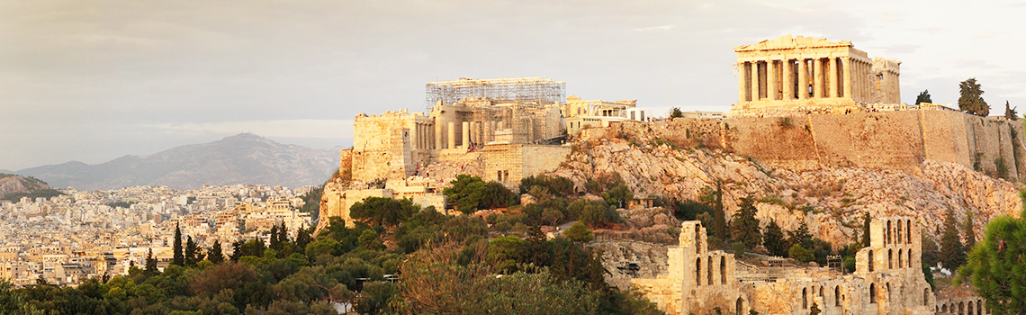 A view of Athens Greece