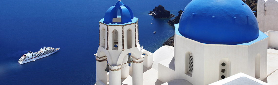 Santorini is one of the most beautiful spots in the world