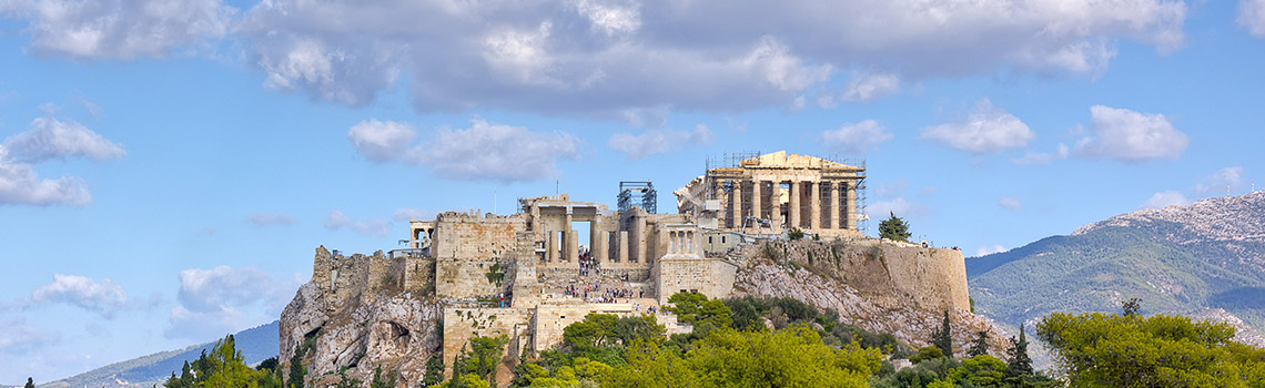 In Athens you will experience amazing architecture and history