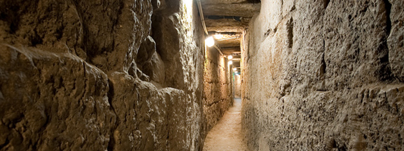 This is the Herodian Water Channel