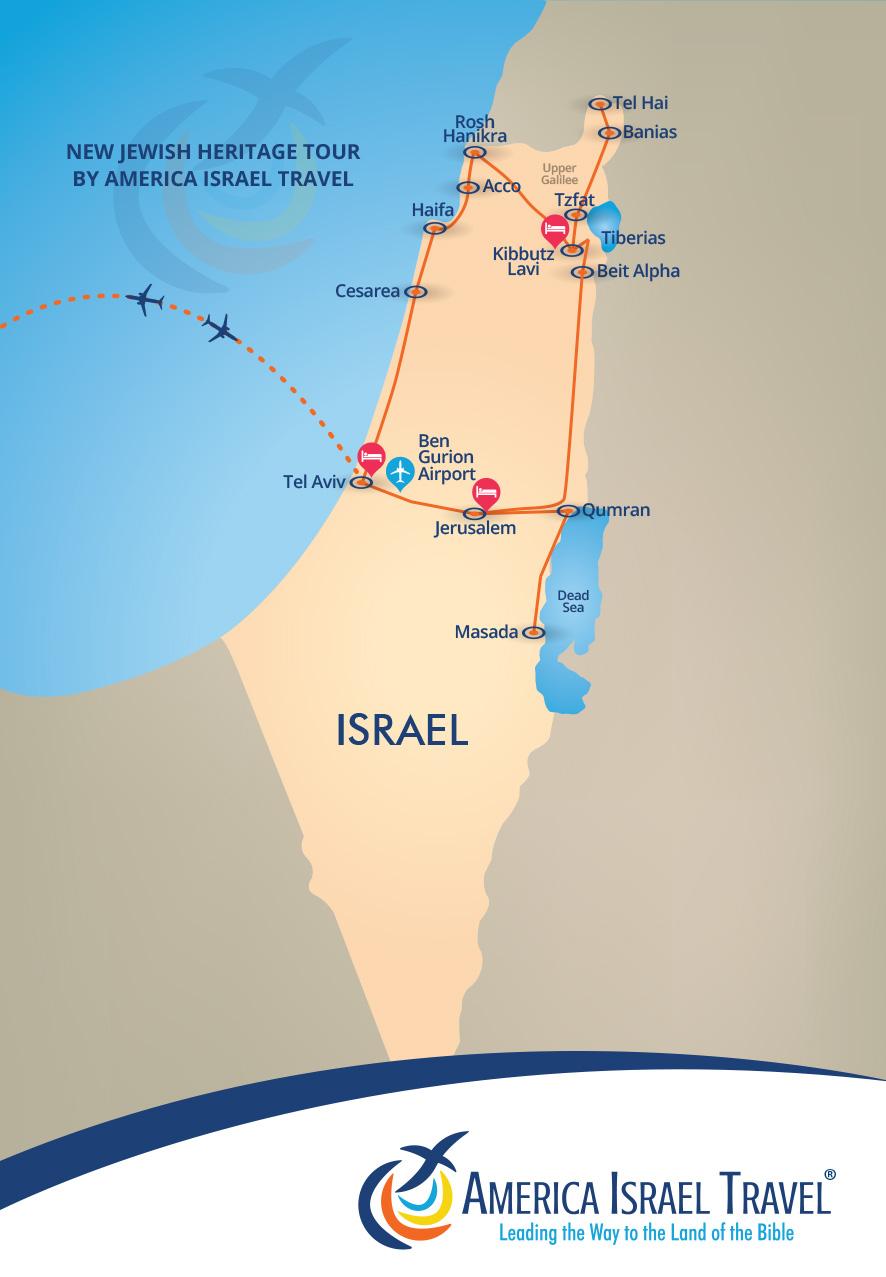 New Jewish Heritage America Israel Tours