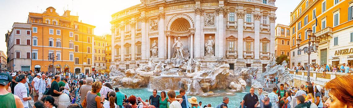 Fountain de Trevi Rome