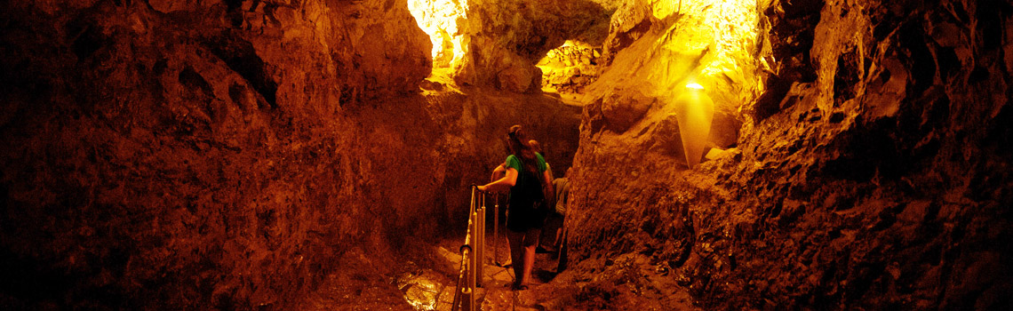 The City of David is an underground city in Jerusalem