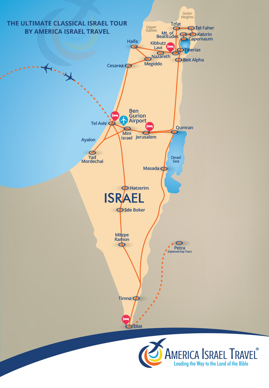 Click here to view a map of the tour